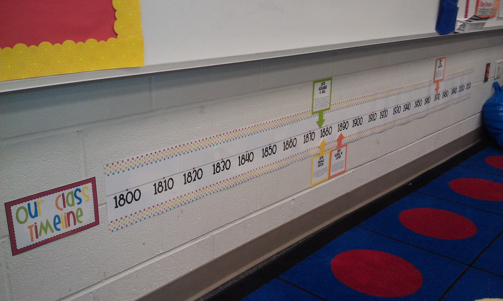 Classroom Timeline Ideas ~ The open door classroom new design and other fun stuff