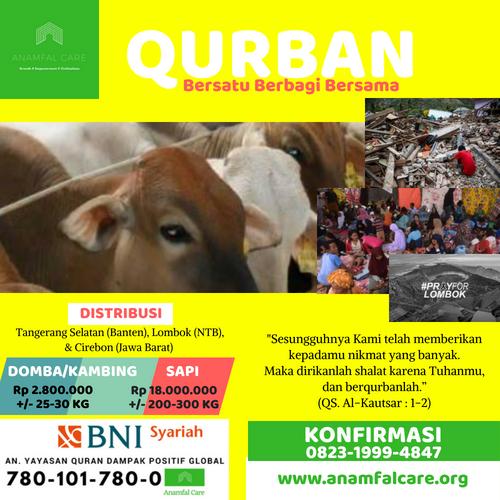Qurban : Bersatu, Berbagi, Bersama
