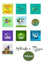 Sticker Raya
