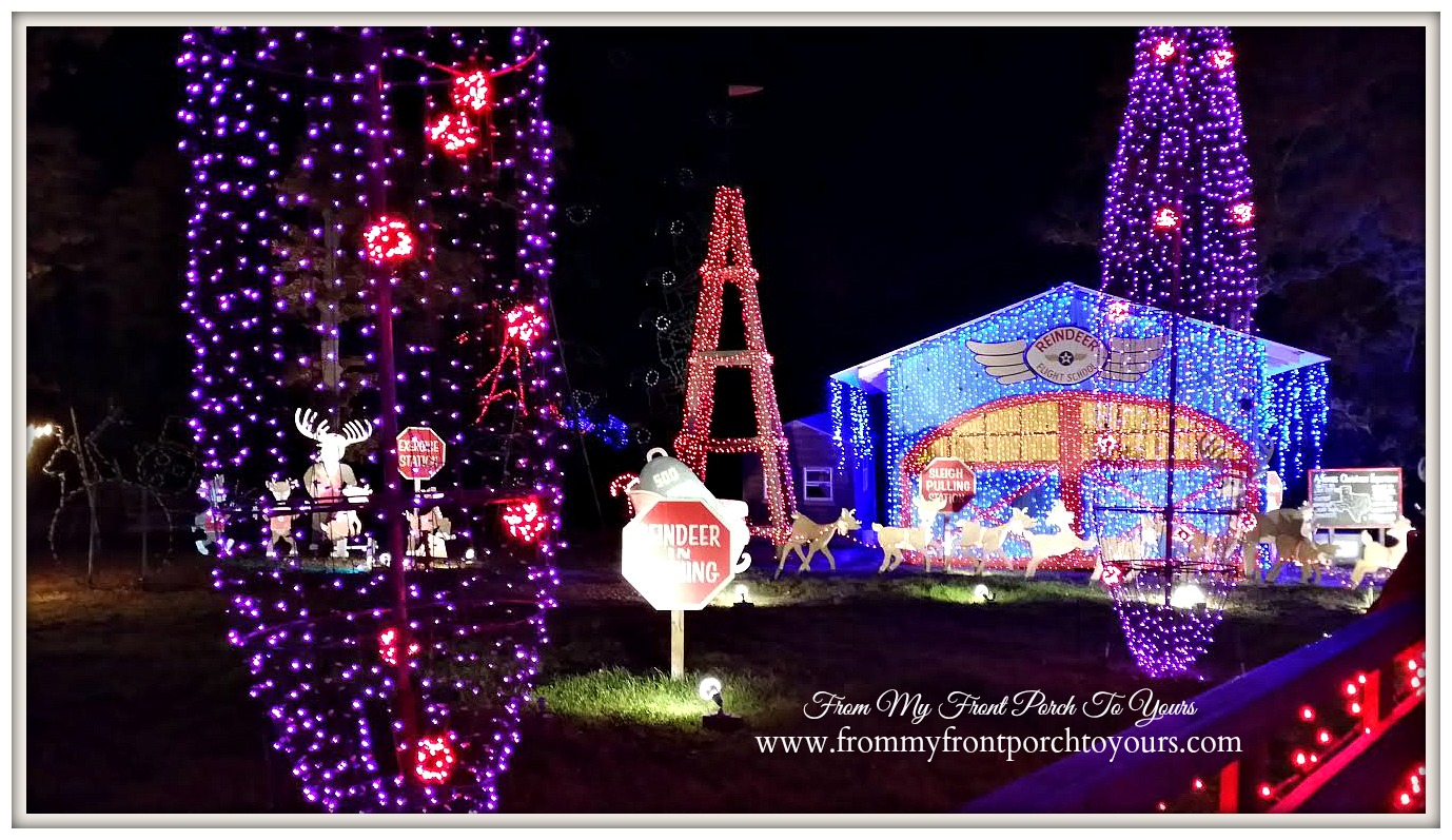 Santa's Wonderland College Station-Christmas Lights- From My Front Porch To Yours