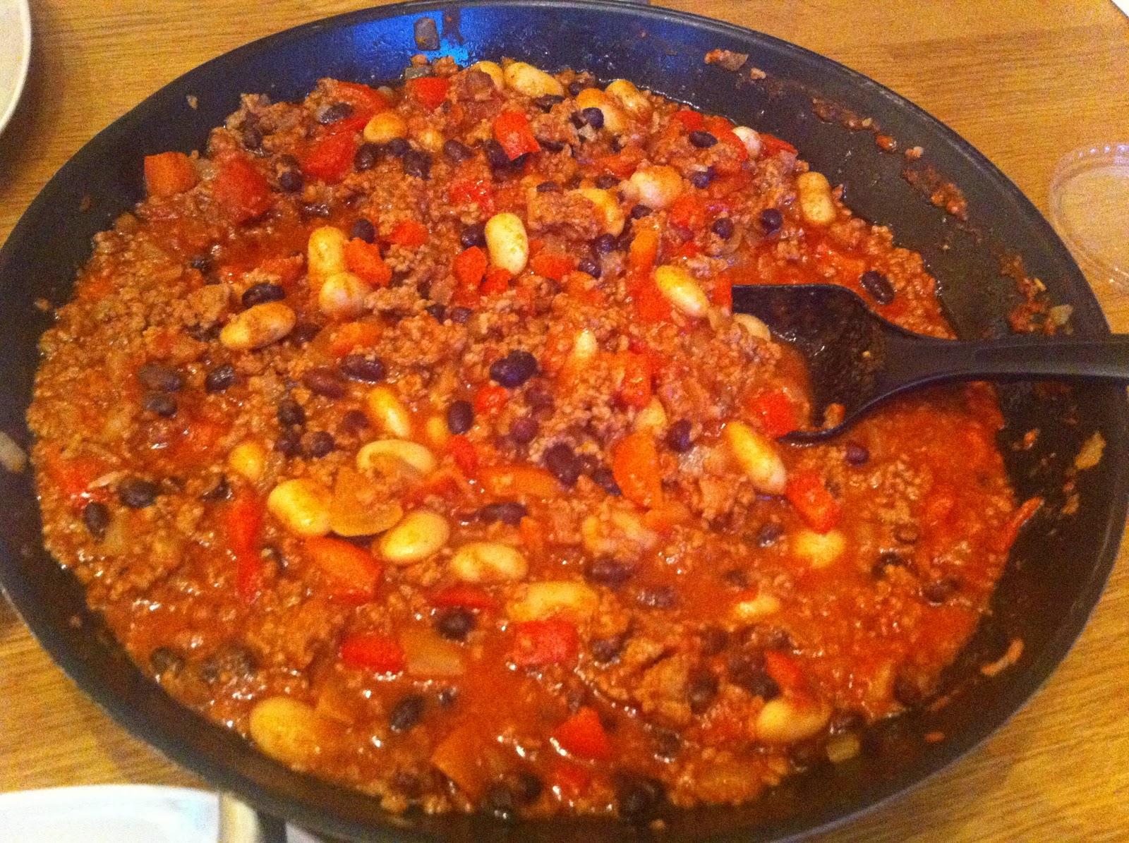 chili con carne lchf recept