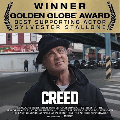 Sylvester Stallone ganha o Globo de Ouro