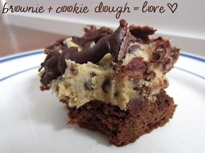 Chocolate Chip Cookie Dough Brownie Recipe