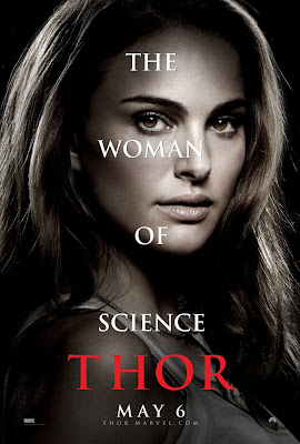 Thor Character Movie Poster Set 1 - Natalie Portman as Jane Foster, The Woman of Science