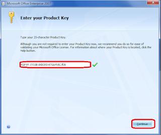 product key microsoft office enterprise 2007