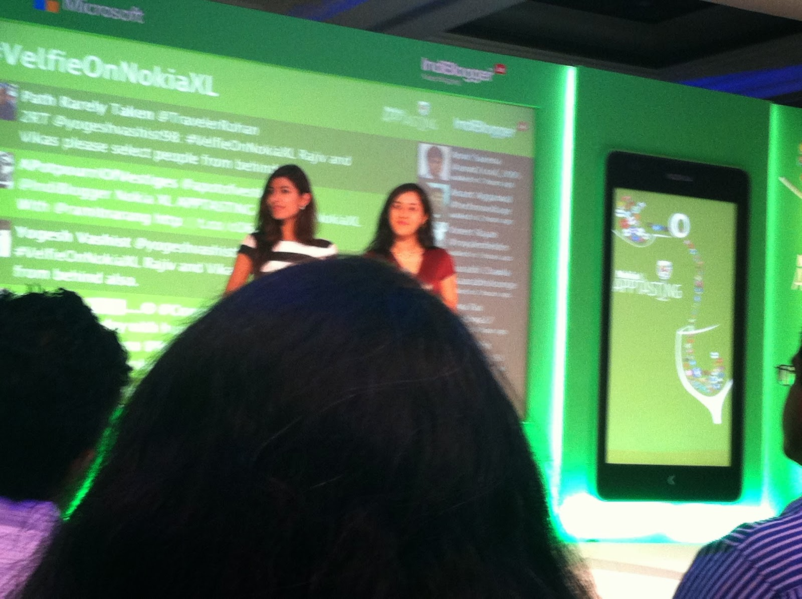 NDTV prime hosts for fitness mobile apps at NokiaXL and Indiblogger meet