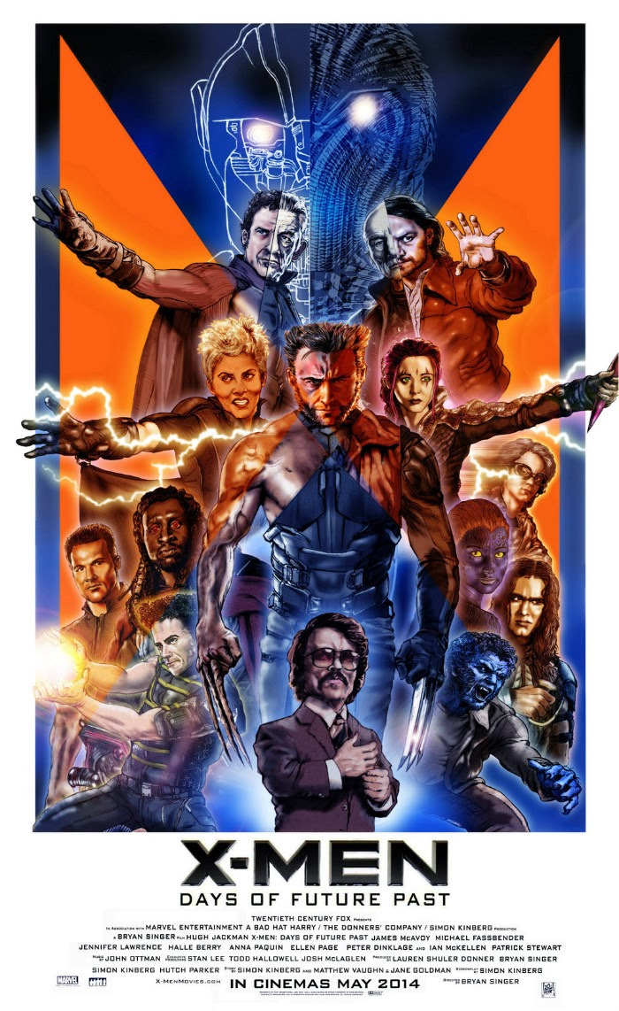 men days of future past poster by n8ma-d78r9xo jpgX Men Days Of Future Past Blink Poster