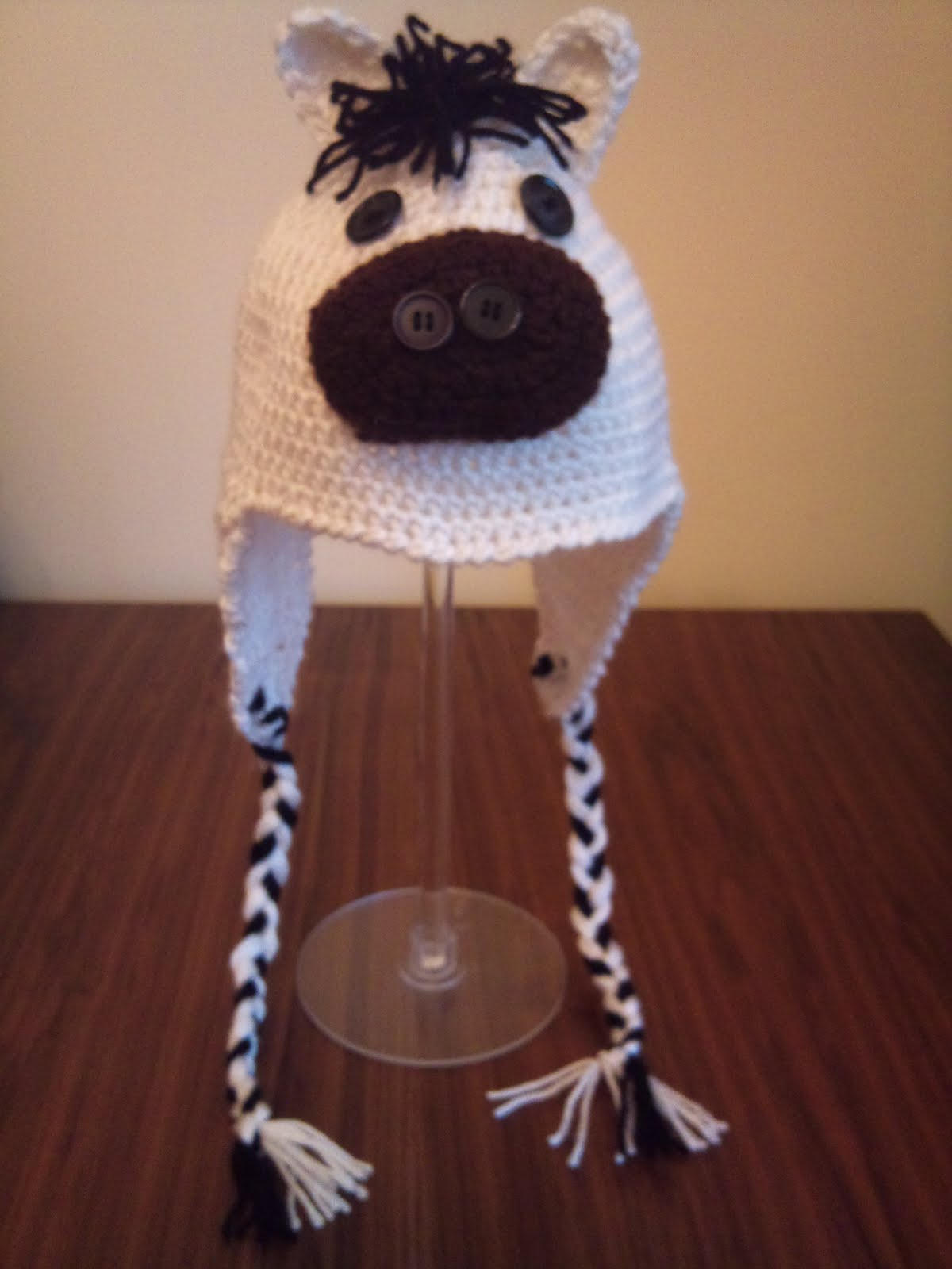 Horse hat ~ Crochet Addict CFS