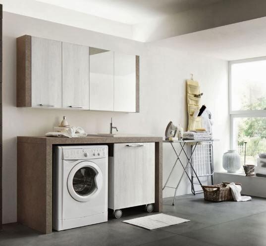 ... un unico locale dedicato alla lavanderia è un lusso per pochi per
