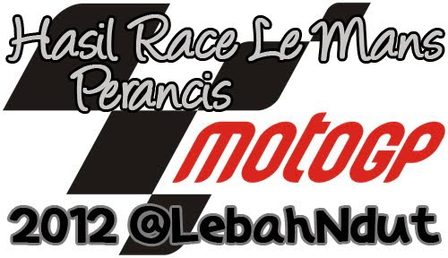Hasil Balap motoGP Le Mans 2012 Podium Race moto2 moto3 Lengkap