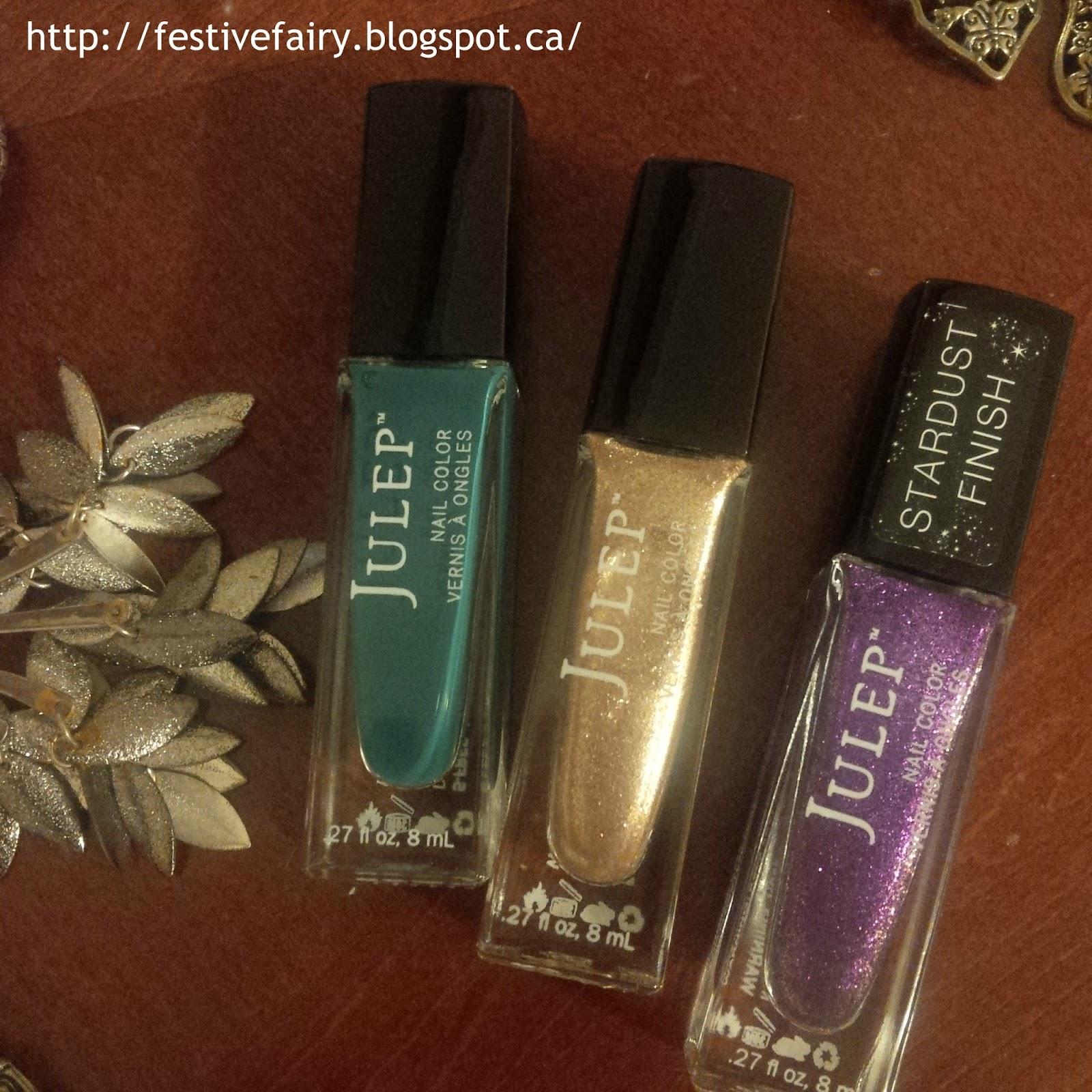 Festive Fairy : December 2015: Julep Maven All That Glitters Overview