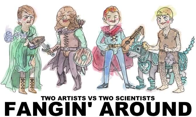 Fangin' Around Podcast