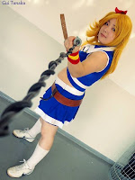 Mariana Shizuka Cosplay Lucy Heartfilia Cheerleader