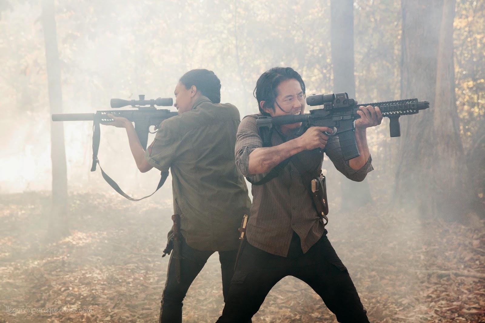 Sasha y Glenn en la segunda mitad de la quinta temporada