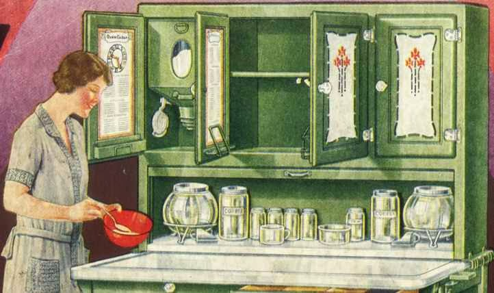 Kitchen Cabinets Ideas sellers kitchen cabinet history : The Corner Cupboard: A Hoosier Cabinet History