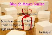Sorteio no Blog da Mayara suelen