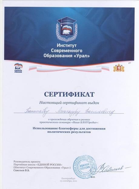 сертифікат троля
