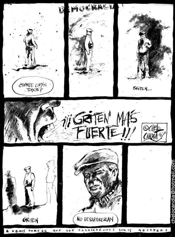 ¿¡Dónde está Jorge Julio López!?