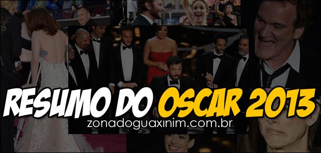 Resumo do Oscar 2013