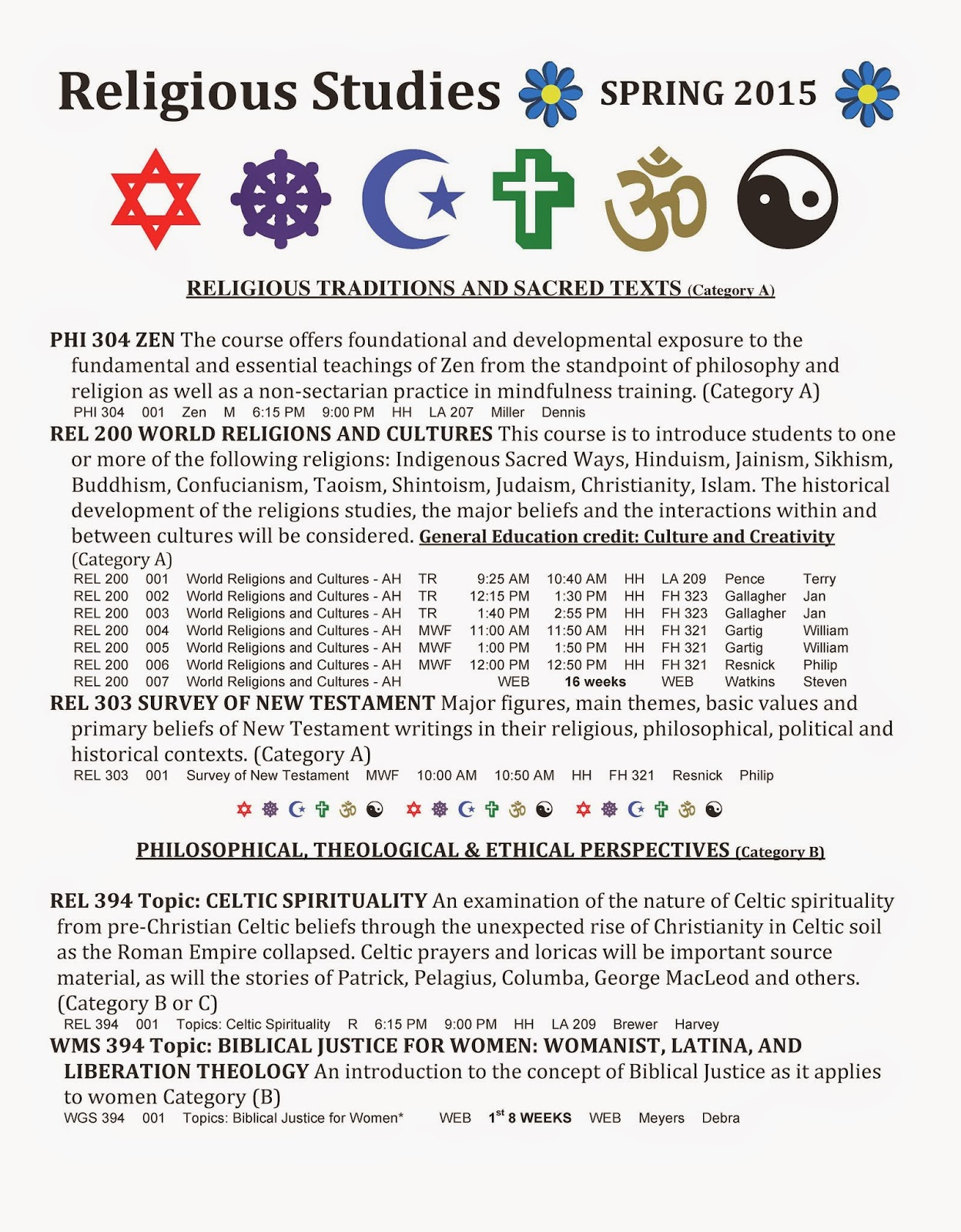 religion coursework 2010 The goals of this course relate to the disciplined study of a religion, especially in terms of what is entitled religionswissenschaft or the scientific study of religion • to survey the early religious history of sufi spirituality.