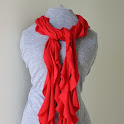 The 5 minute Scarf from a T-shirt!
