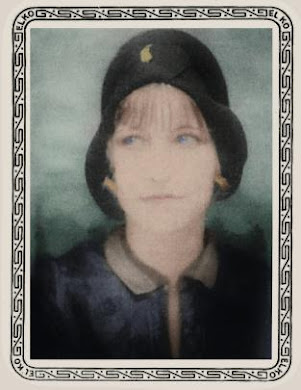 Bonnie Parker, colorized by C.FLYNN.