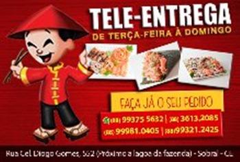 Shiitake Sushi Bar TELE-ENTREGA DE TERÇA FEIRA A DOMINGO LIGUE E PEÇA 99375-5632 OU 99981-0405