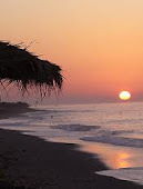 agios georgios beach (sunrise)