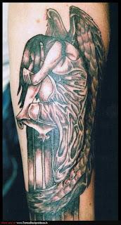 Fallen Angel Tattoos Designs