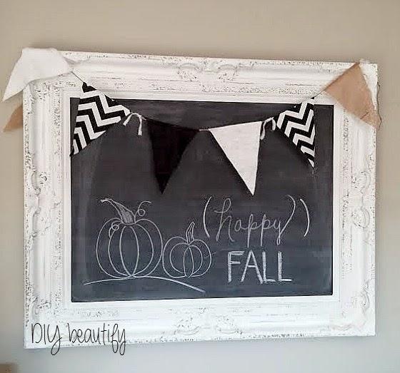 Fall Chalkboard www.diybeautify.com