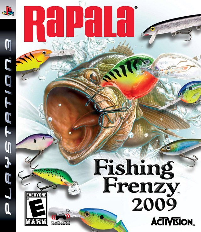 ps3 fishing rapala
