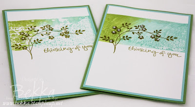 Hopeful Thoughts Thinking Of You Sympathy Cards - check out how they were made here