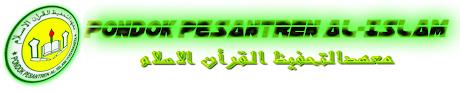 PONDOK PESANTREN AL-ISLAM