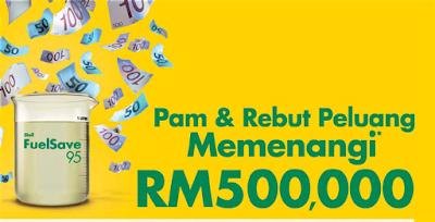 Shell 'Pam & Rebut Peluang Memenangi RM500,000' Contest