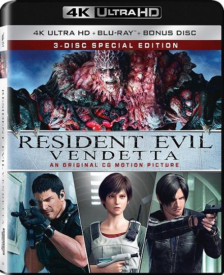 Resident Evil: Vendetta 4K (2017) 2160p 4K UltraHD HDR BluRay REMUX 45GB mkv Dual Audio Dolby TrueHD ATMOS 7.1 ch