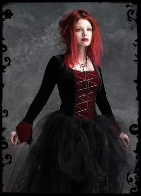 Custom Gothic Wedding Dress
