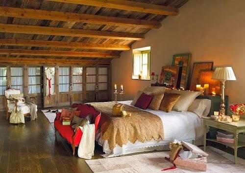 Decora hogar decoraci n de dormitorios principales estilo for Decoracion del hogar estilo rustico