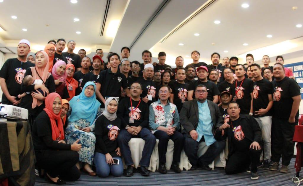 Kem Muafakat Jingga13 Malaysia 2019