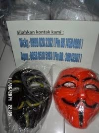 Topeng Vendetta Anonymous Bekasi