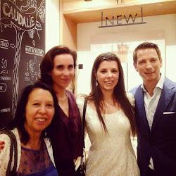 Momento Caudalíe com Mathilde Thomas e Bertrand Thomas donos da renomada marca francesa Caudalíe