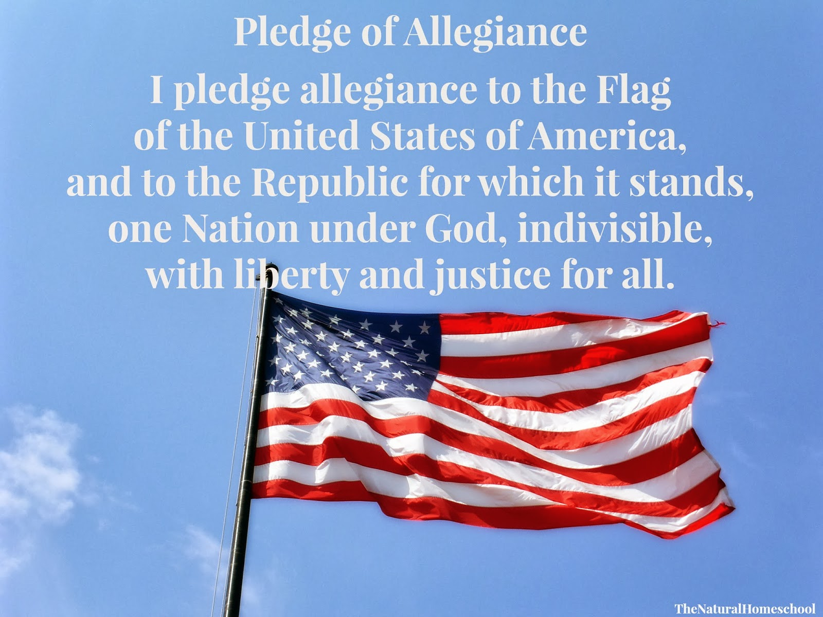 American Flag Pledge