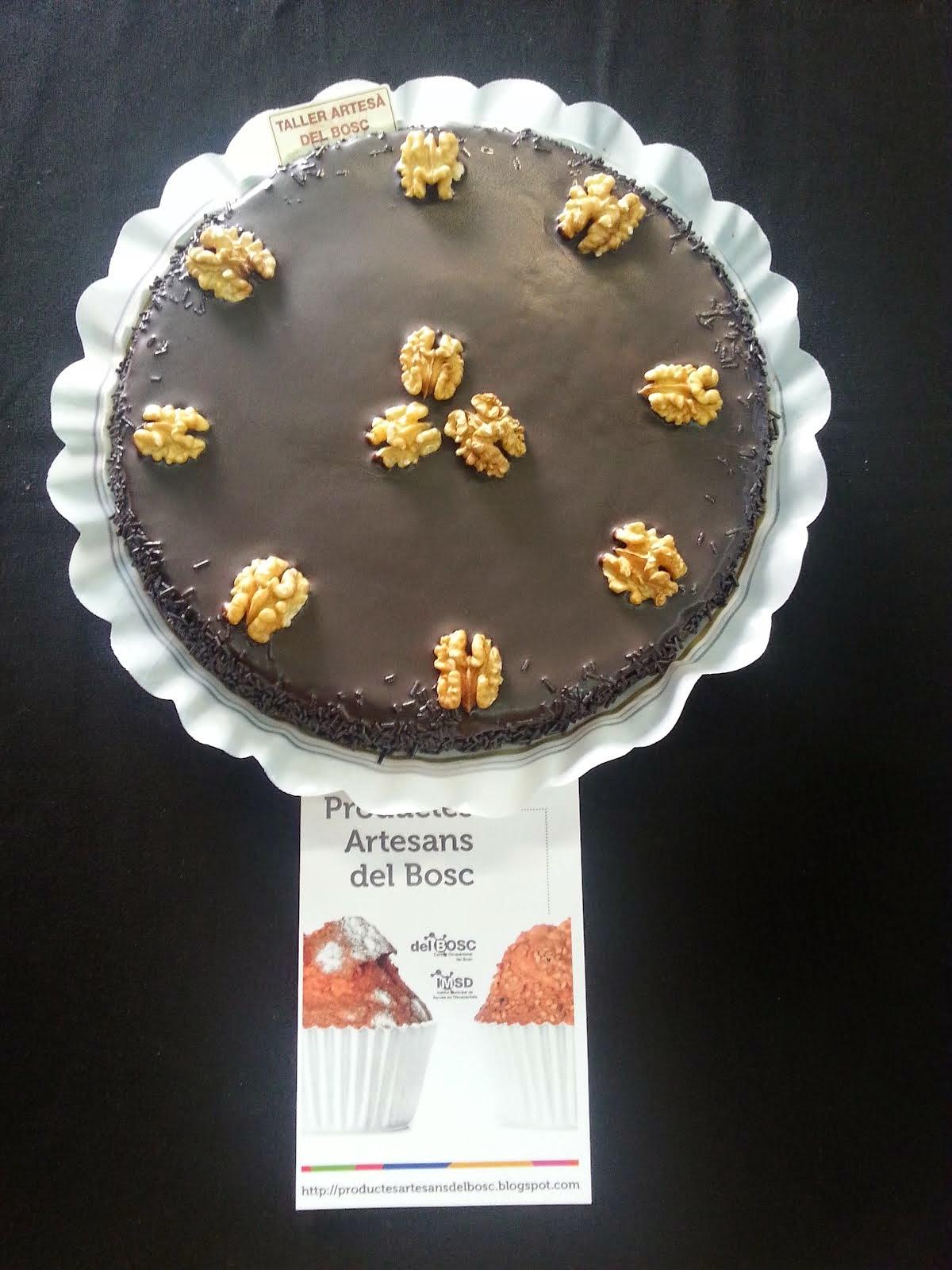 Pastís granulat de xocolata