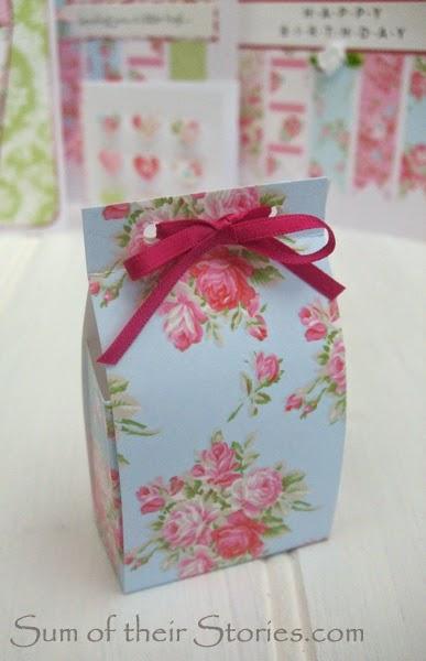Mini Floral gift box