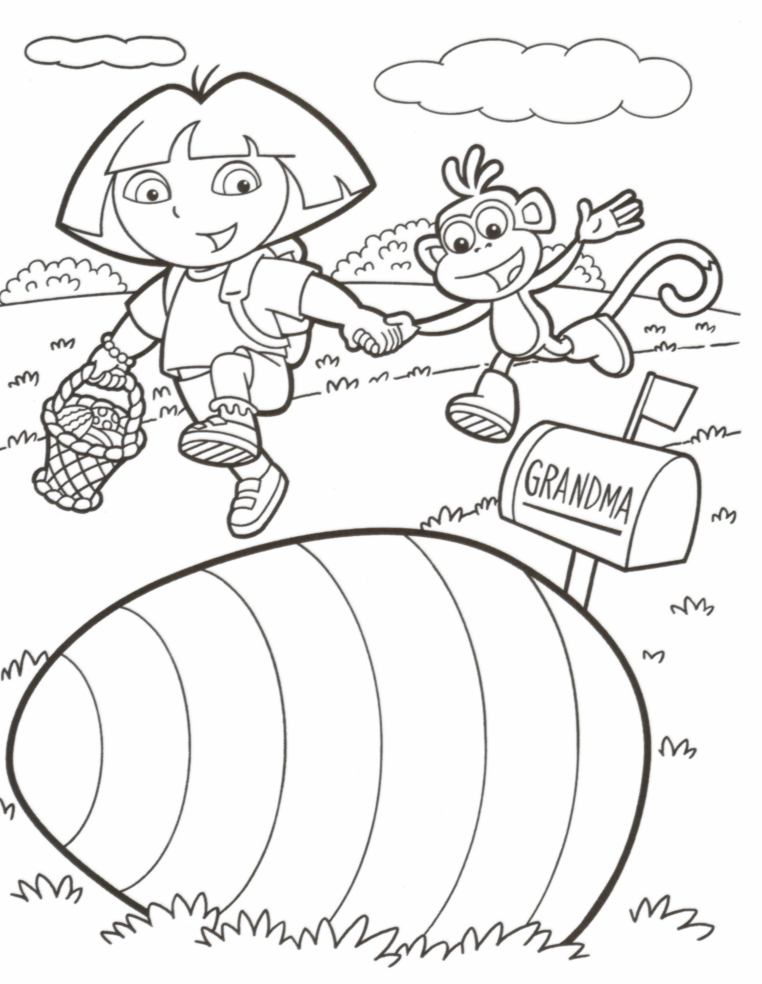 Easter Coloring Pages and Activities