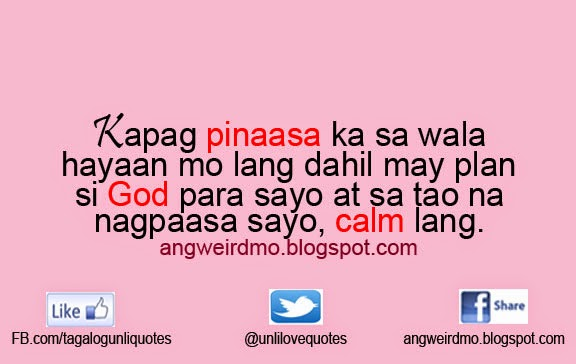 Paasa Quotes | angweirdmo!!! - A fun blog about jokes, facts, and many ...