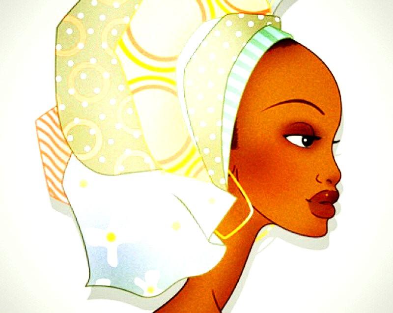 Imágenes Arte Pinturas: Llamativas Imágenes de negras