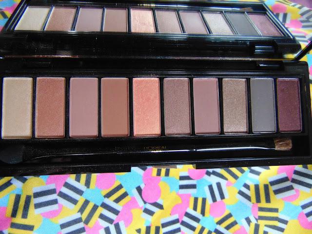 7 days 7 pallets Loreal la palette nude