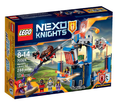 TOYS : JUGUETES - LEGO Nexo Knights  70324 Biblioteca de Merlok 2.0 | Merlok's Library 2.0  Producto Oficial 2016 | Piezas: 288 | Edad: 8-14 años  Comprar en Amazon España & buy Amazon USA