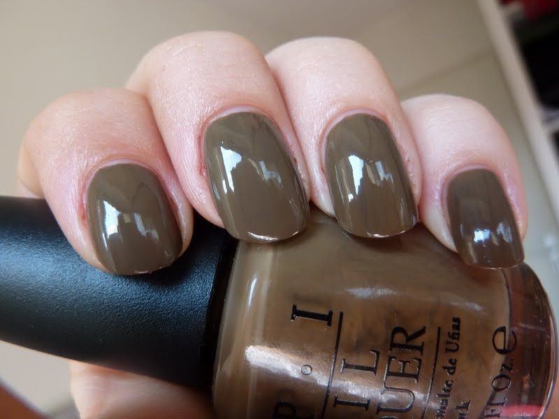 Opinionated little finger opi a taupe the space needle for What does taupe mean