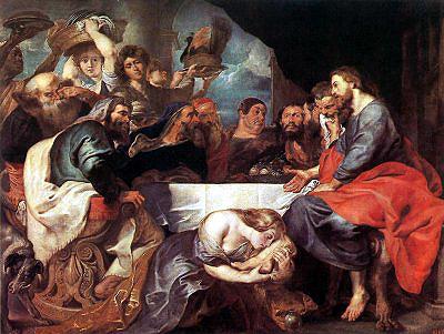 Maria perfuma os pés de Jesus em Betânia